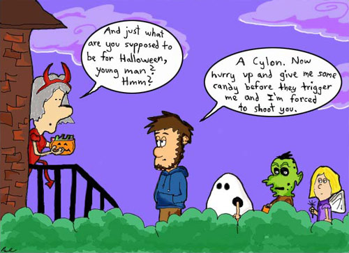 Greenhorn web comic