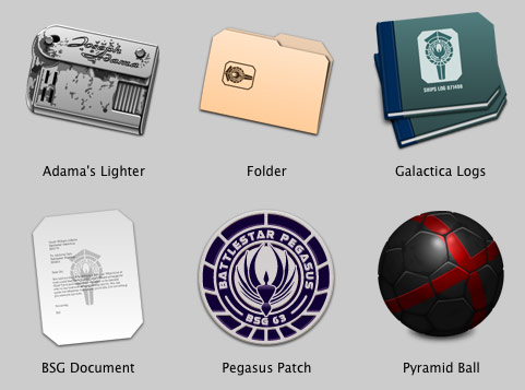 BSG icons from Iconfactory -- set 2